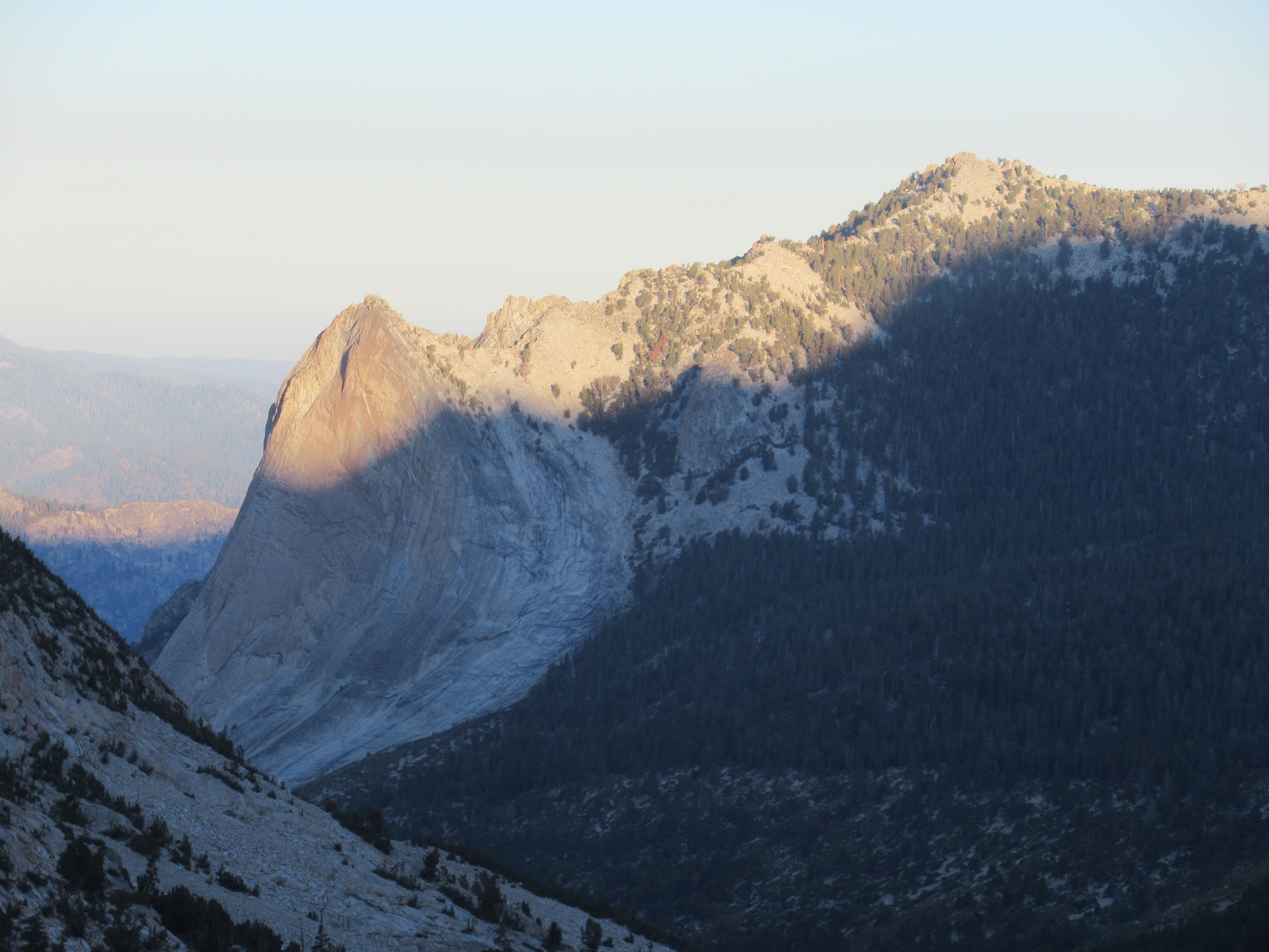 Climb To Glen Pass And Then Back Over Kearsarge Pass